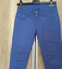 Plave, traper hlače,  M
