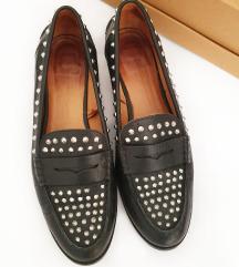 ZARA kožne cipele sa zakovicama