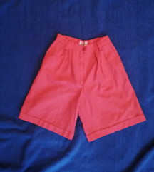 Vintage kratke hlače roze / boje lososa