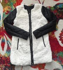 Kožna jakna sa krznenim prslukom s/m