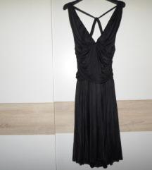 MANGO crna haljina vel.XL