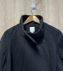 H&M oversize kaput s visokim ovratnikom M-XL