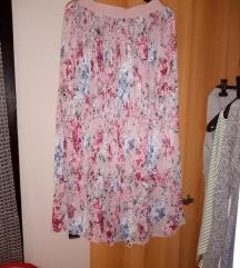 Suknja plisirana