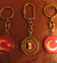 privjesci za ključeve, original, novo