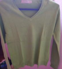 Duga zelena majca