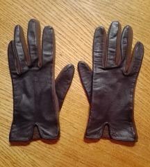 Kožne rukavice smeđe