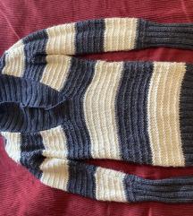 Dugački vuneni džemper