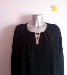 NOVA crna bluza košulja