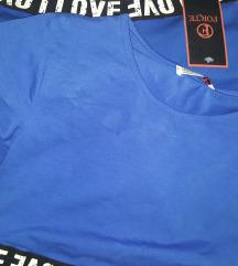 NOVO s etiketom sportski komplet S tajice+majica