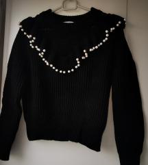 Zara pulover sa biserima