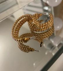 Zlatne naušnice - 22 karatno zlato
