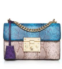 Mala torbica zmijski uzorak