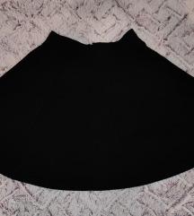Crna H&M suknja XS
