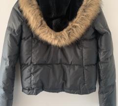 Ralph Lauren crna kratka puf jakna