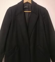 NOVO! Zara crni vuneni kaput