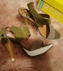 Replay sandale na petu