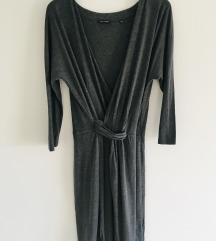 MARC O'POLO predivna siva wrap haljina vel 38