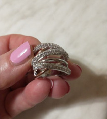 Novi prsten silver 925 vel. 17