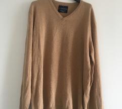 Bež pulover vel XL