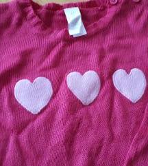 Valentinovska haljinica 5 g.