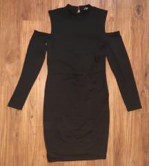 Midi rolka haljina otvorenih ramena