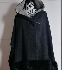 Crna pelerina VUNA 🟣NOVO🟣 POVOLJNO