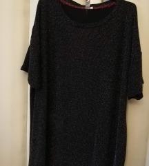 Crna bluza sa sljokicama xxxl