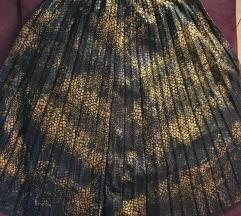Zlatno-crna suknja
