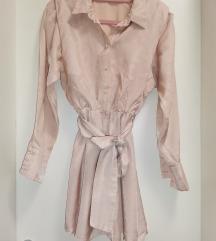 Mini kosulja haljina zara
