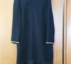 Crna haljina Zara, veličina S, NOVO