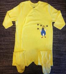 NOVA točkasta pidžama i žuta pidžama