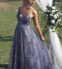 Svečana duga haljina S