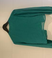 SNIZENO! Zelena bluza