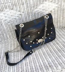 MY LOVELY BAG crna kožna torba / NOVO