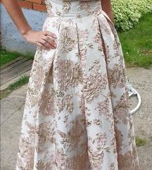 Svečana zlatna haljina    -----> sniženo <-----