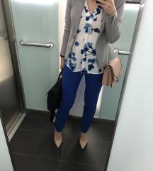 ESMARA by Heidi Klum kraljevsko plave hlače