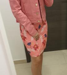 NOVA s etiketom roza Gaudi traper jakna