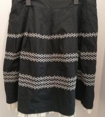 Vezena suknja Bandolera