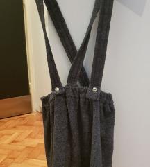 Zara dj. zimska suknja s tregarima