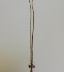 Ogrlica sa križem, srebro