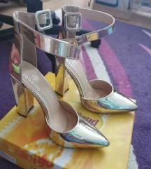 ROBERTO Zlatne sandale