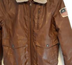 Zara kožna jakna 164
