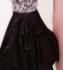 Asimetrična svečana haljina s PT