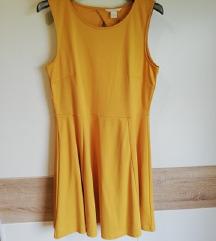 H&M haljina sa golim leđima