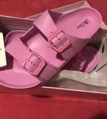 Papuce roze 39