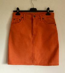Retro mini suknja