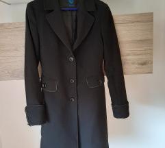 Crni kaput (XYZ), vel 38/40 (uklj pt)