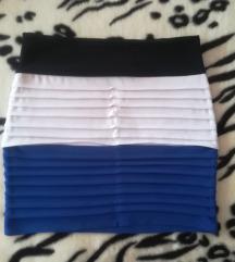 Kratka trobojna suknja