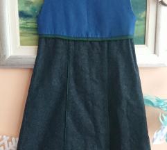 Zimska topla haljina za curice br. 116