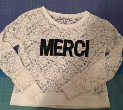 Cipkana bijela majica